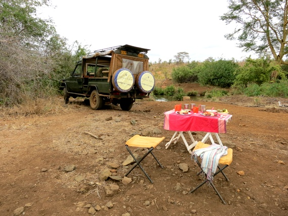 offbeat safaris game drive breakfast