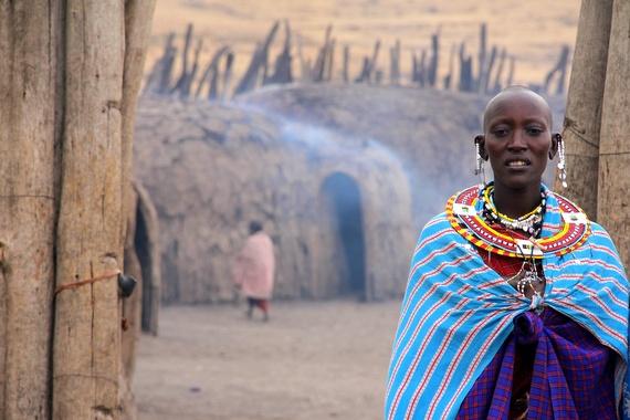 Ngorongoro Crater Masaai