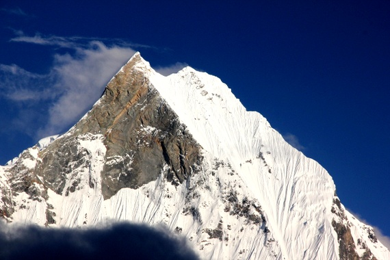 Machapuchare Fish Tail Mountain Nepal