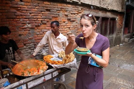 chat street food