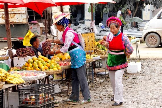 yunnan street market