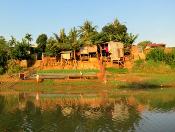River boat tour from Battambang to Siem Reap