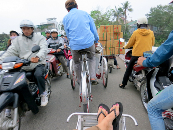 Pedicab in Vietnam