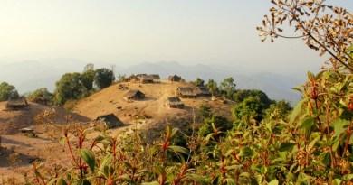 Lahu Village in Luang Namtha Laos