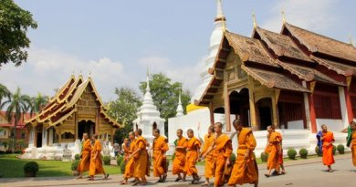 Monks of Chiang Mai Thailand