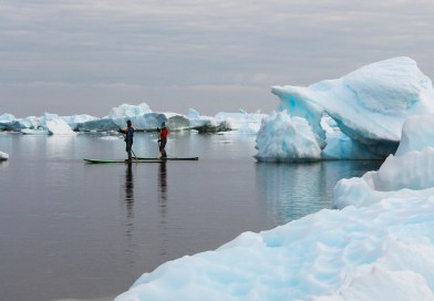 VIDEO: Standup Paddleboarding Antarctica