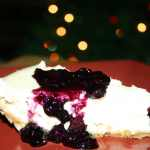 "Tyler Florence's ""The Ultimate Cheesecake with Blueberry Topping"" (REDUCED FAT & 318 Calories)"