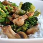 Quick & Healthy Broccoli and Mushroom Stir-Fry