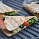 Broccoli & Red Pepper Quesadillas… A Healthy Spin on a Mex Classic!