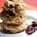 Whole Wheat Cranberry White Chocolate Chip Cookies… just 89 calories!