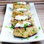 Parmesan Chive Quinoa Patties