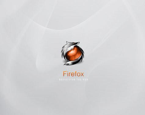 Fondo gris claro firefox