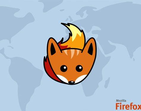 fondo firefox en el mundo