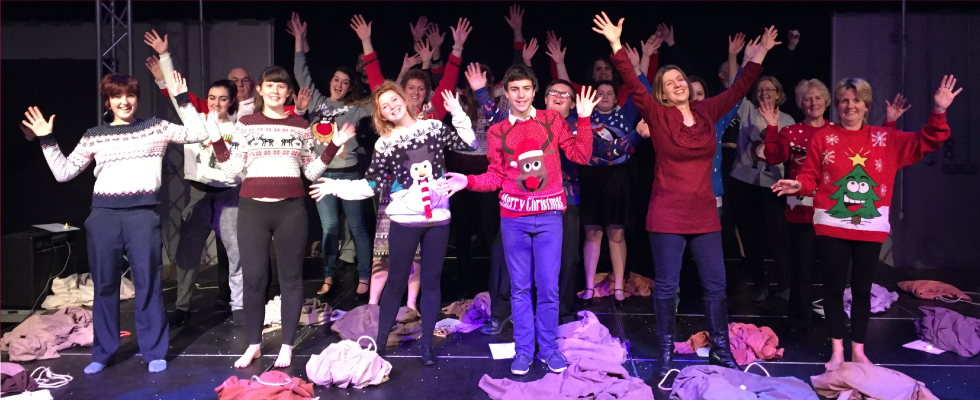 Over the Sledge, Christmas Variety Show International Tour