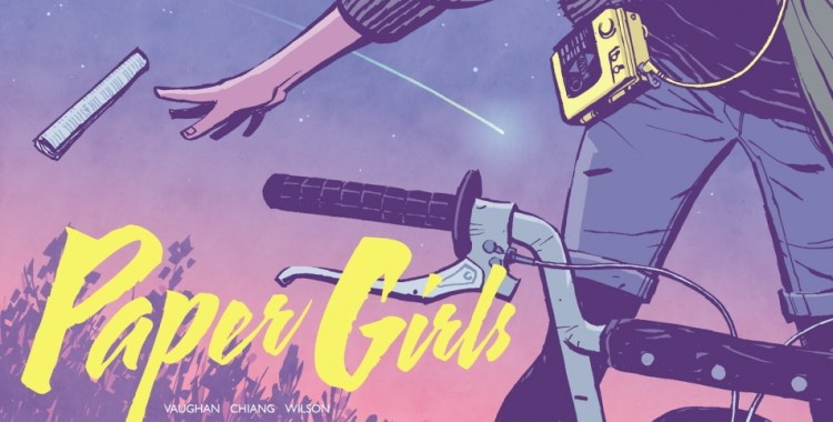 Comic Book Review - Paper Girls Vol. 1