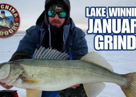 Lake Winnipeg Walleye – January Grind!