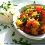 Mango Chicken with Red Peppers
