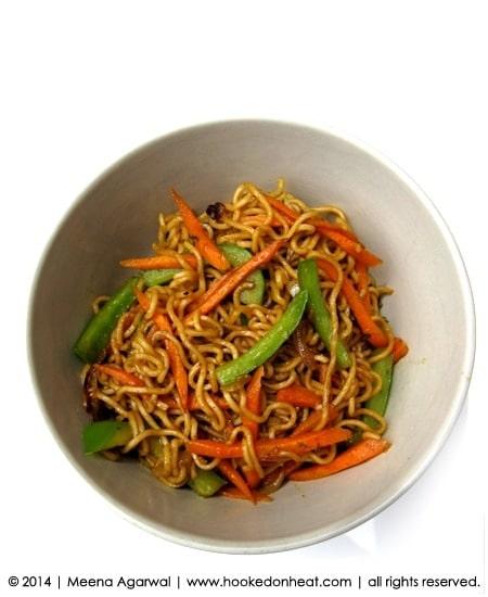 Recipe for Revamped Ramen taken from www.hookedonheat.com. Visit site for detailed recipe.
