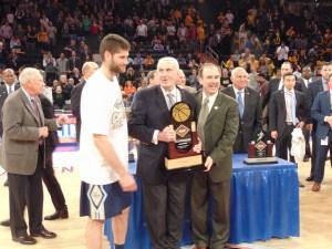 George Washington forward Tyler Cavanaugh was named the NIT MVP (Ray Floriani photo)