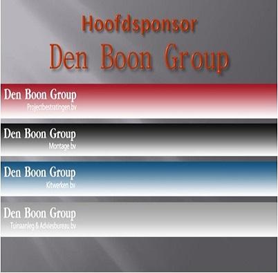 Hoofdsponsor Den Boon Group site