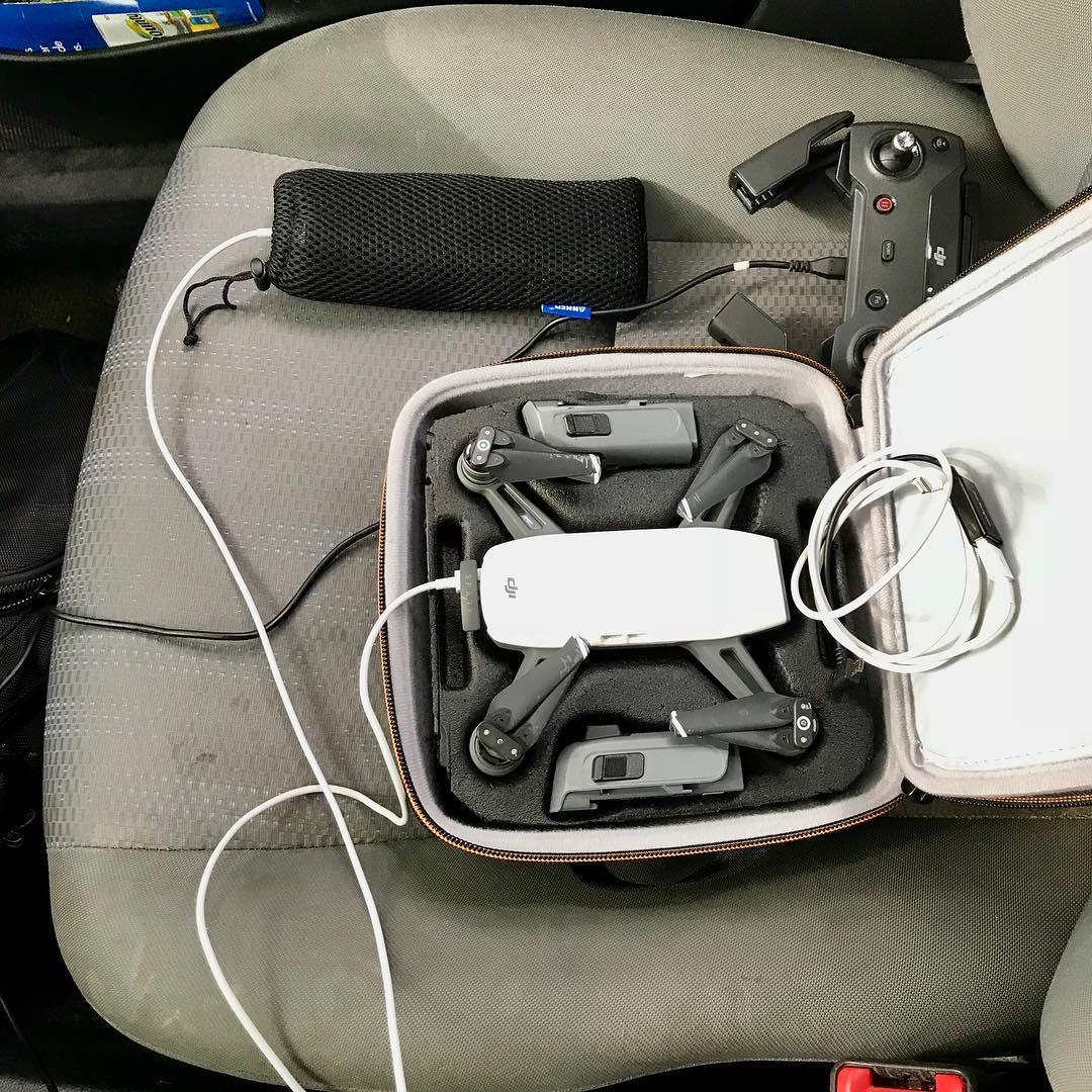 A drone needs electricity a lot  dji djispark photohellip