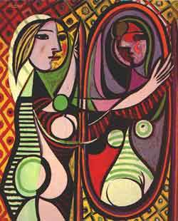 Picasso - Girl Mirror