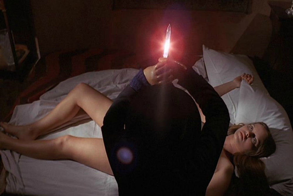 Barbara Bach meets her demise in The Black Belly of the Tarantula