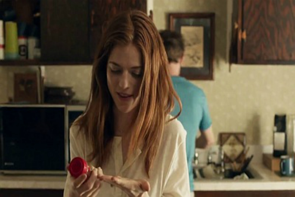 2. Honeymoon, Bea and Paul in kitchen