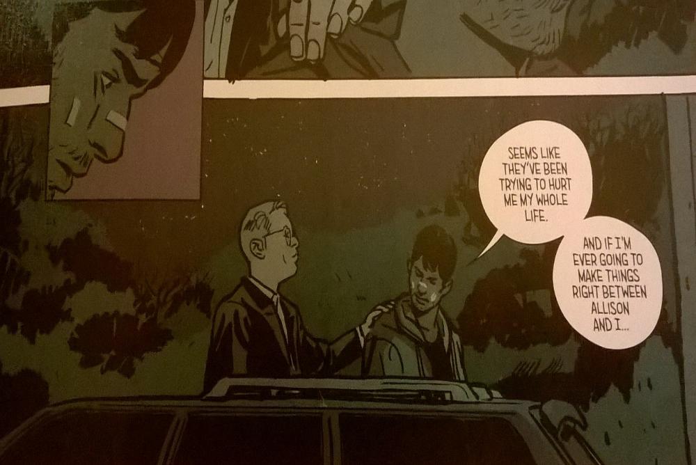 7. Outcast comic