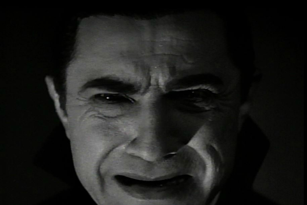 3. Dracula, face coming toward camera, 3