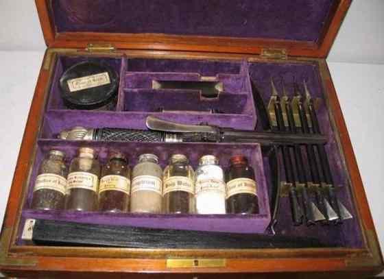 Equipment for killing vampires16
