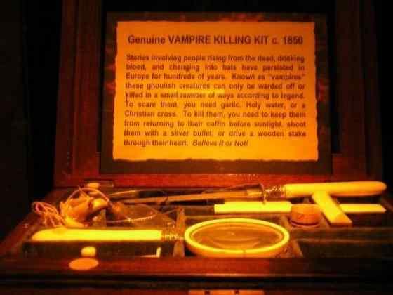 Equipment for killing vampires22