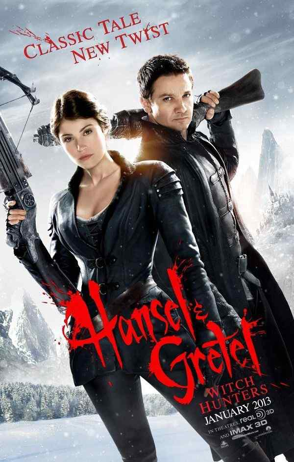 Hansel and Gretel Witch Hunters movie poster