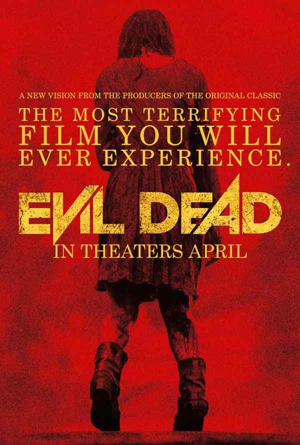Evil Dead Teaser movie poster 2