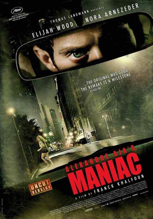 Maniac remake movie poster