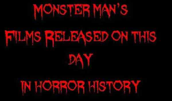 Horror Society: Films released on this day in horror history   March 24   www.horrorsociety.com