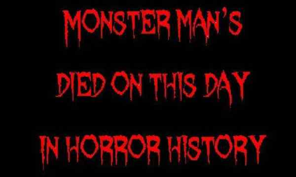 Horror Society: Died on this day in horror history   March 24   www.horrorsociety.com