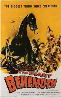 The Giant Behemoth movie poster