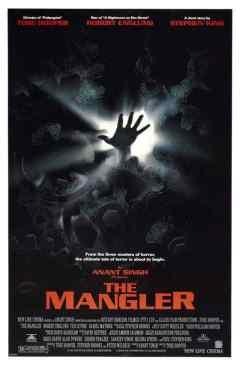 The Mangler movie poster