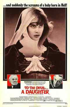 To the Devil a Daughter movie poster