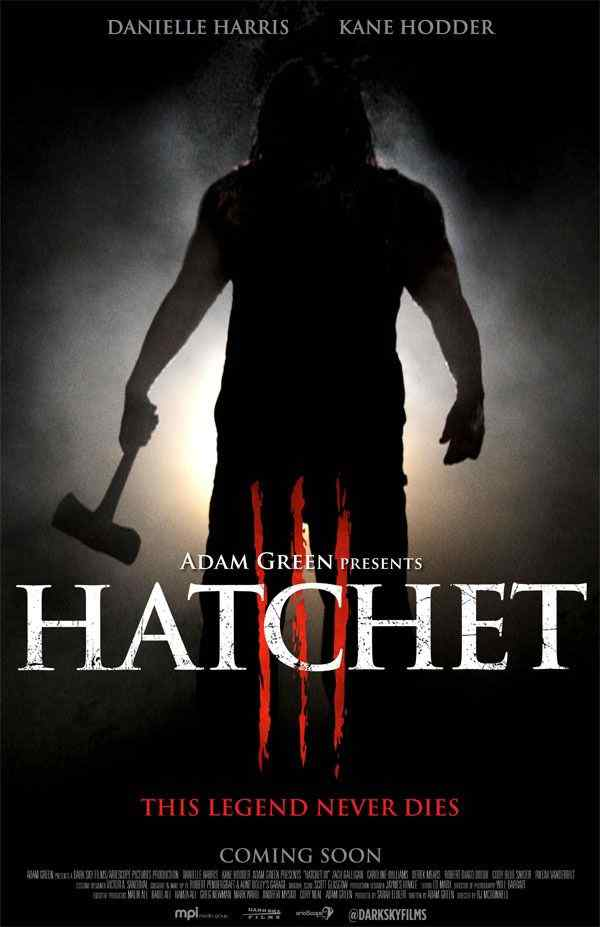 Hatchet 3 teaser poster 2