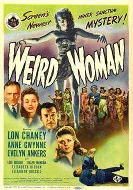 Weird Woman movie poster