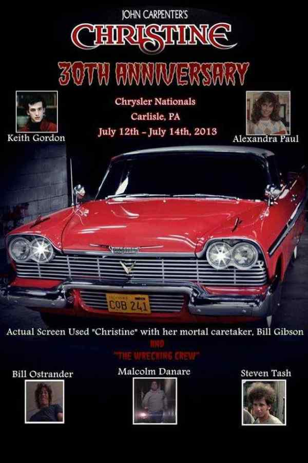 Horror Society: Meet CHRISTINE at the Chrysler Nationals   www.horrorsociety.com