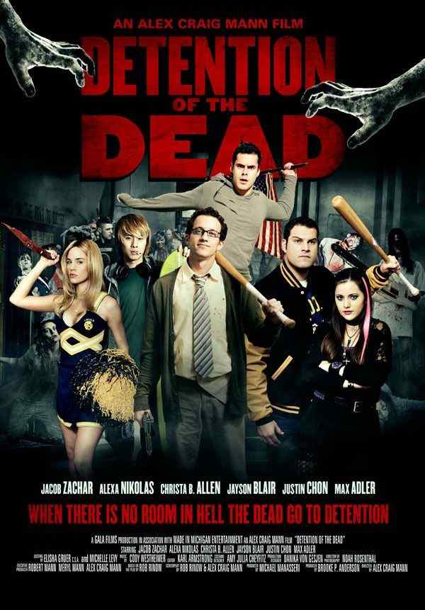Detention of the Dead movie poster