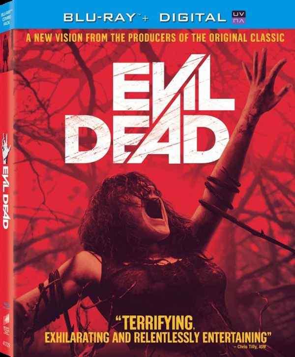 Evil Dead blu ray cover