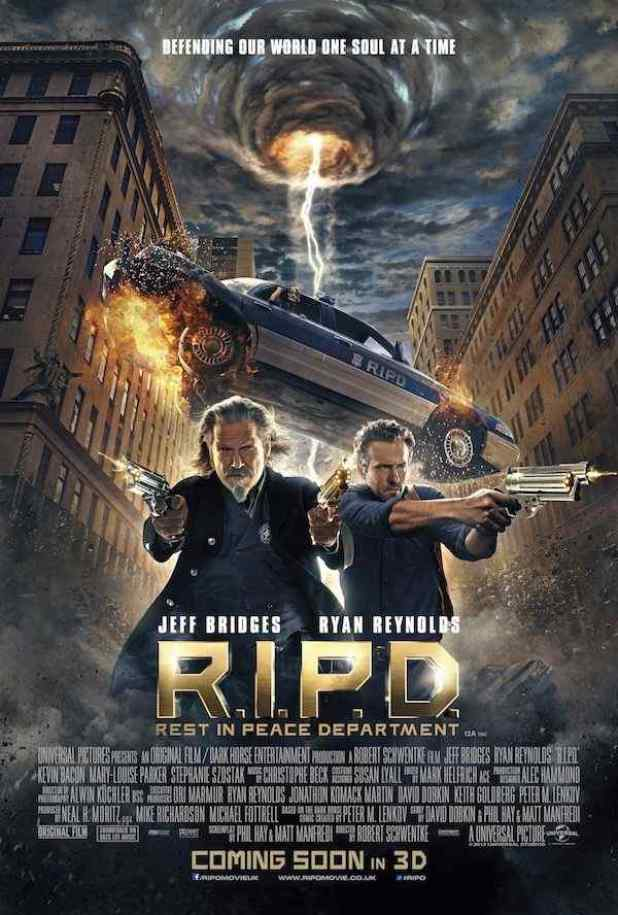 Horror Society: New Poster for R.I.P.D.   www.horrorsociety.com