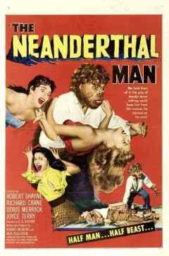 The Neanderthal Man movie poster