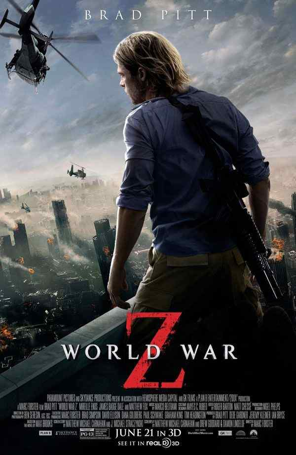 World War Z official movie poster