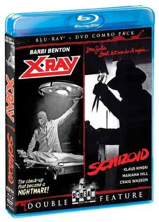 Horror Society: X RAY/SCHIZOID  BLU RAY+ DVD COMBO PACK and Q THE WINGED SERPENT and DARK ANGEL Press Release   www.horrorsociety.com
