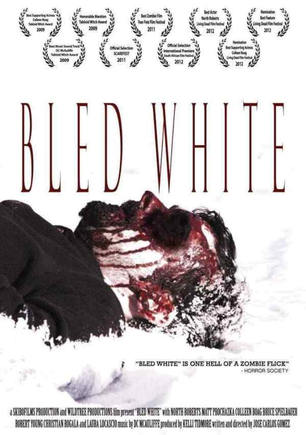 Horror Society: Bled White Zombie Movie Out on DVD   www.horrorsociety.com